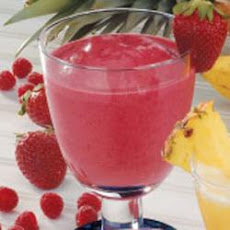 Fruity Red Smoothies