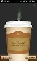Screenshot of Coffee Generator