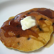 Blueberry Pancakes (from a muffin mix)