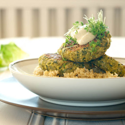 Ultra-Healthy, Fresh Herb Falafel