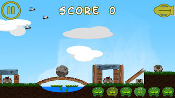 Screenshot of Battle Frogging Free