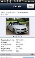 Screenshot of BMW Approved Used Cars