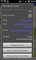 Screenshot of FahrradLaden
