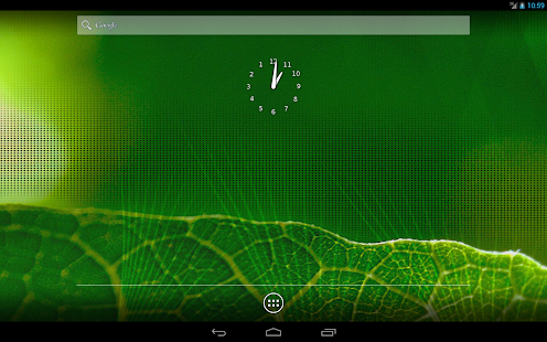 AntiClockwise Clock - screenshot