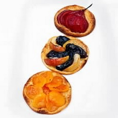 Prune and Apple Galettes