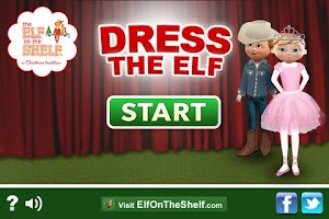 Screenshot of Elf Dress-Up, Elf on the Shelf