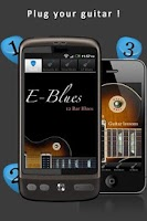Screenshot of Blues Guitar: E-Blues