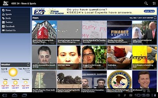 Screenshot of KSEE 24 for Tablet