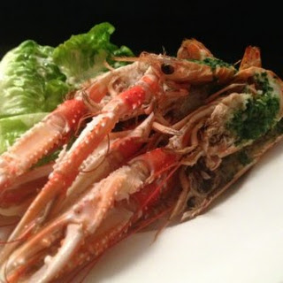 Garlic & Parsley Baked Langoustines
