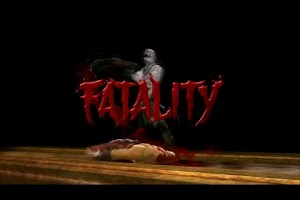 Screenshot of Mortal Kombat 9 Fatalities