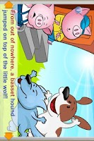 Screenshot of The Three Pigs 2 StoryChimes