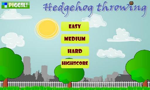 Hedgehog Throwing