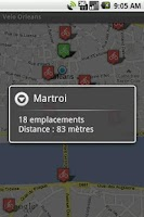 Screenshot of Vélo+ Orléans