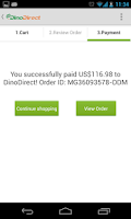 Screenshot of DinoDirect - Shopping China