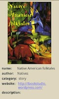Screenshot of Native American Folk Tales