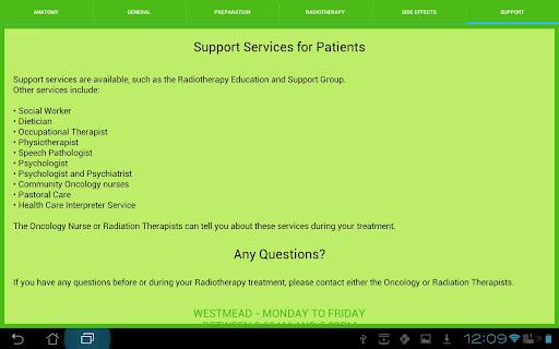【免費醫療App】My Radiotherapy Experience-APP點子