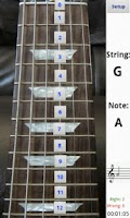 Screenshot of Electric Guitar Fretboard