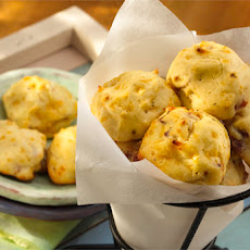 Cheddar Bacon Puffs