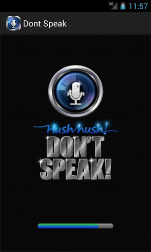 Hush Hush Don't Speak