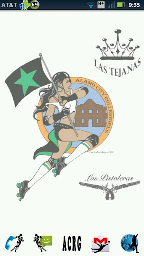 ACRG Roller Derby Deluxe Theme
