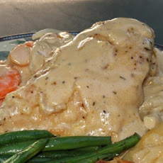 Chicken Fricassee With Lemon Mustard Sauce