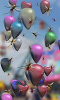 Screenshot of Baloons live wallpaper