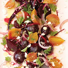 Bi-Rite Market's Roasted Beet Salad with Pickled Onions and Feta