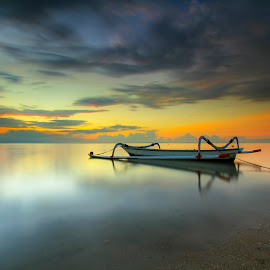 laut ku indah by Happybubble Gum - Landscapes Beaches ( #bali #longexposure #beach #colour #beautiful )