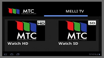 Screenshot of MTC - MelliTV