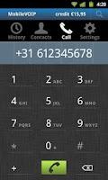 Screenshot of VoipYO   Cheapest Voip Calls