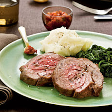 Leg of Lamb with Spicy Harissa