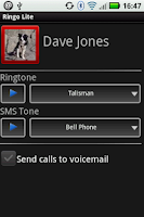 Screenshot of Ringo: Ringtones & Text Alerts