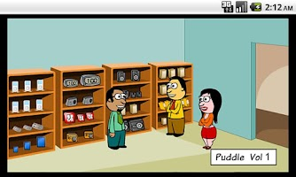 Screenshot of Retail Comics