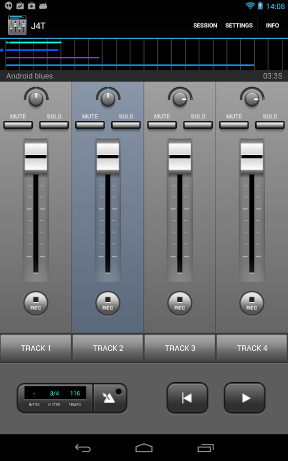 J4T Multitrack Recorder Screenshot 7