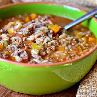 Stuffed Peppers Soup