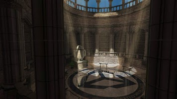 Screenshot of Sky Castle 3D Graphics Demo