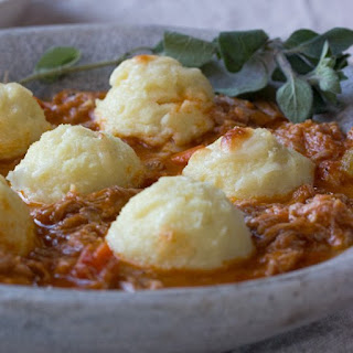 Pork Ragu with Semolina Gnocchi