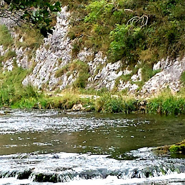 Dovedale, Peak District by Clare Johnson - Nature Up Close Water ( water, scenic, river )