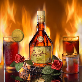 Drops of Fire by Chao Gogoi - Food & Drink Alcohol & Drinks