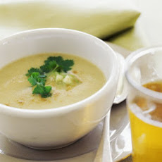 Chilled Buttermilk Tomatillo Soup