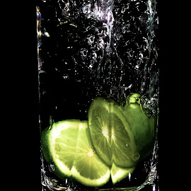 A Splash of Lemon by Monzur Sazid Ahmed - Food & Drink Fruits & Vegetables