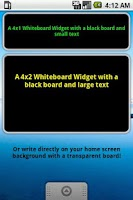 Screenshot of Widget Notes - Whiteboard