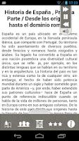 Screenshot of Historia de España
