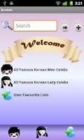 Screenshot of K-Celepedia