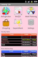 Screenshot of Cooking Life Free/Refrigerator