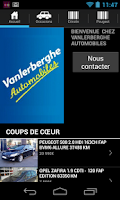 Screenshot of VANLERBERGHE