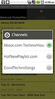 Screenshot of House N' Techno News