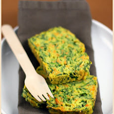 Sweet Potato and Spinach Cake