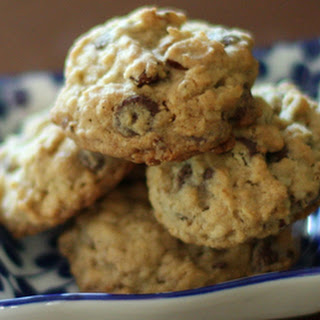 Chewy Chocolate Chip, Coconut, and Oat Cookies