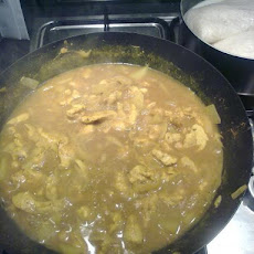 Uncle Rick's Caribbean Chicken Curry (Revised)